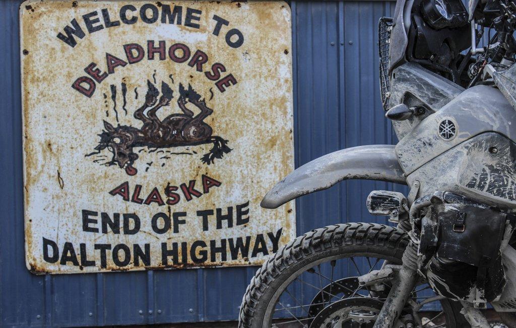 23 - Ankunft im Ort Dead Horse Alaska