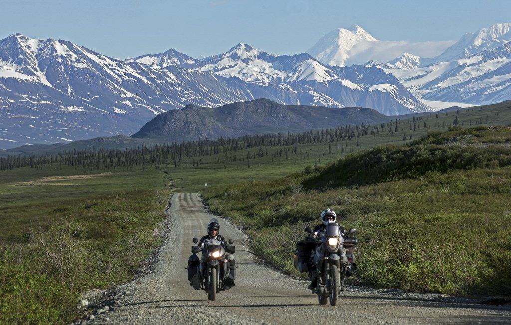 Denali Highway in Alaska