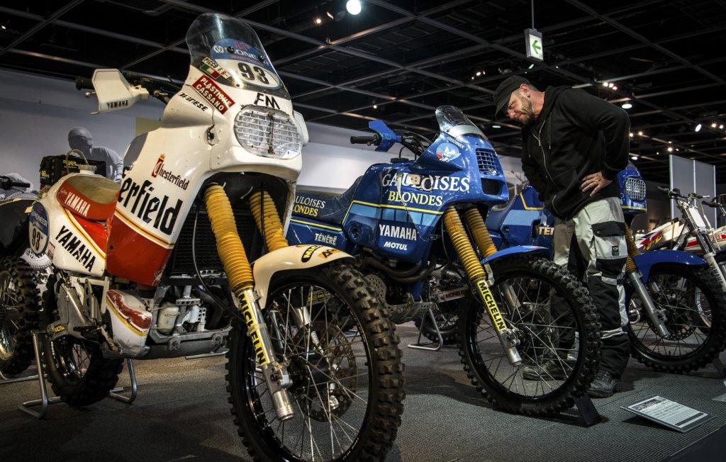 Im hauseigenen Museum von Yamaha gibt es jede Menge Legenden zu bestaunen