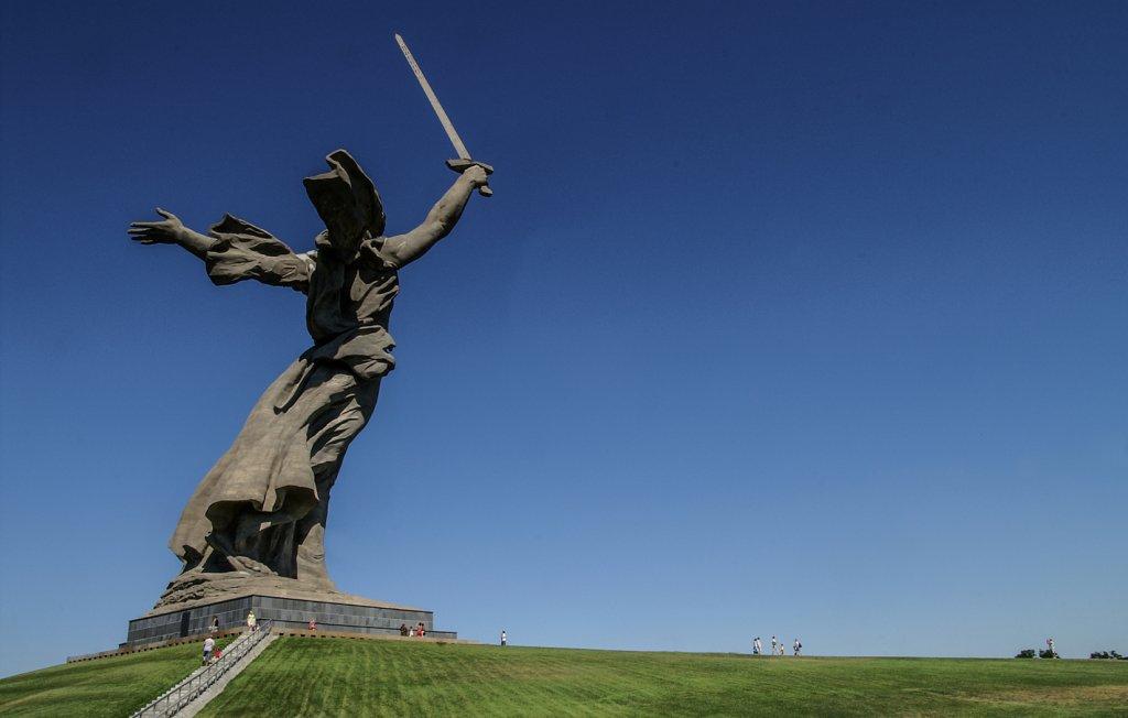 """Mutter Heimat"" in Volgograd (ehemals Stalingrad)"