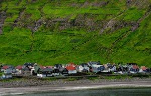 Tjonuvic auf den Färöer Inseln