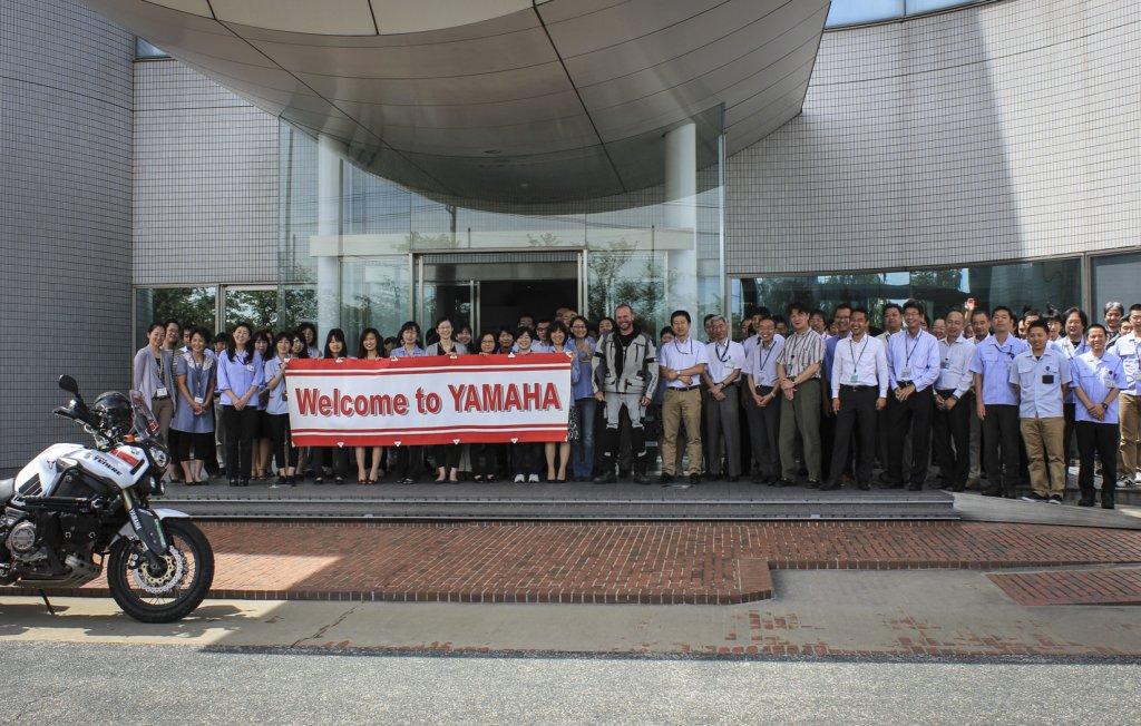 Grandioser Empfang bei Yamaha in Hamamatsu