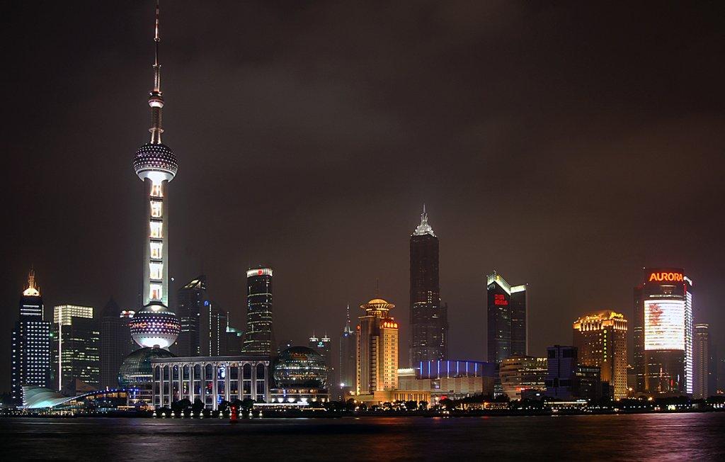 Am Ziel in Shanghai