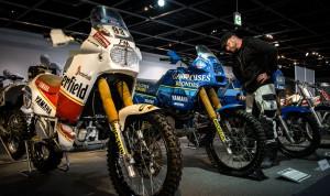 Hier ein paar Ténérés, mit denen die legendäre Rallye Paris Dakar gewonnen wurde.