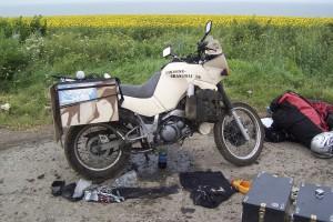 Der erste schwere Defekt im Donbas - Ukraine